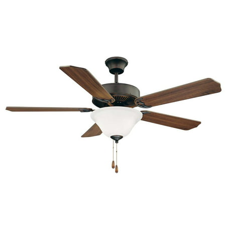 Savoy House-52-ECM-5RV-13WG-52 Ceiling Fan  English Bronze Finish with (Savoy House Outdoor Ceiling Fan)