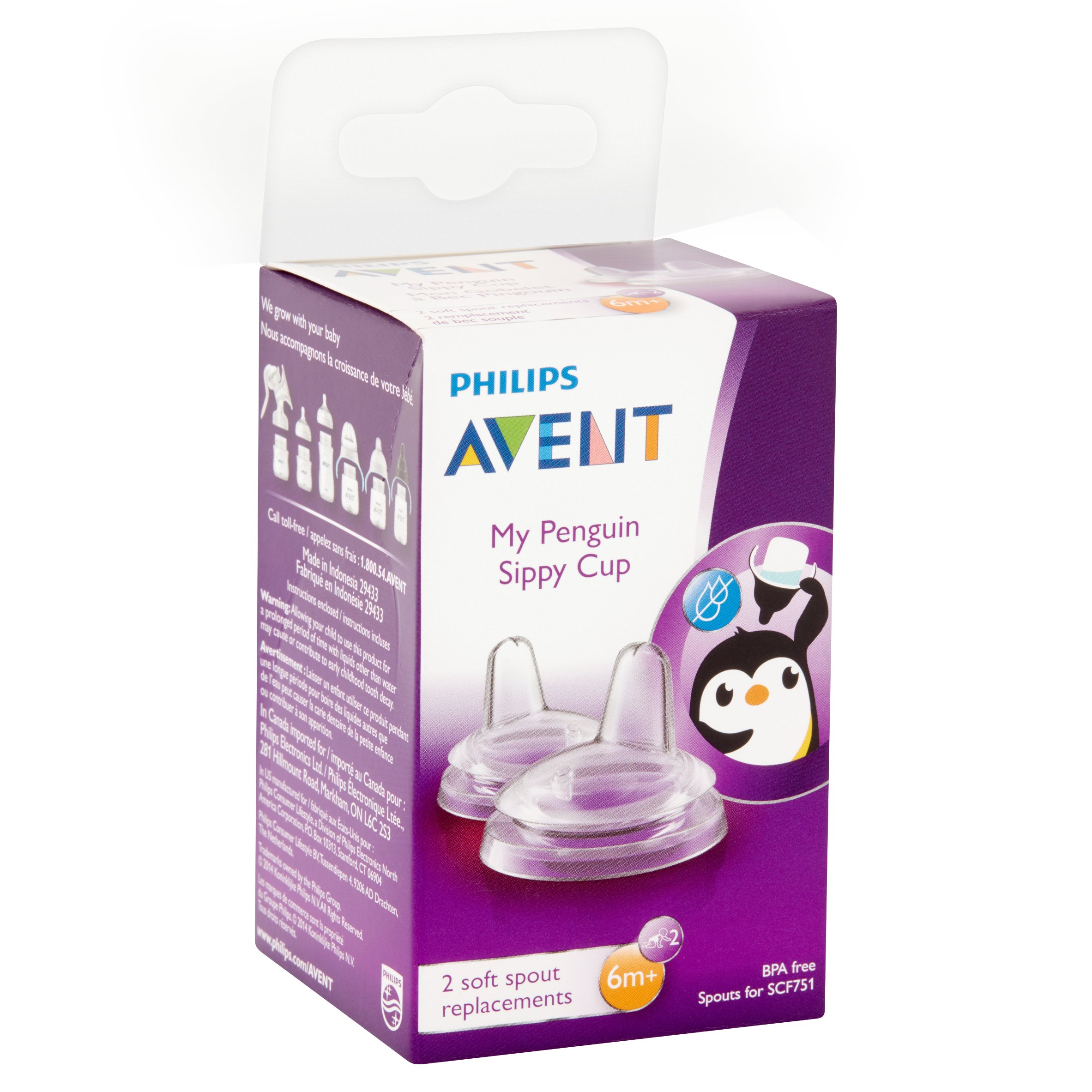 2 Ct Phillips Avent Spout Replacements