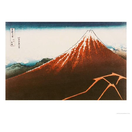 Fuji Above the Lightning, from the Series