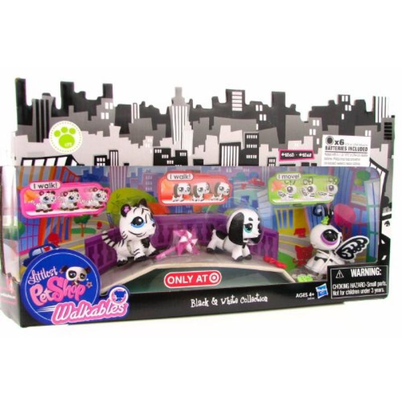 Hasbro Littlest Pet Shop Walkables Exclusive Playset Blac...