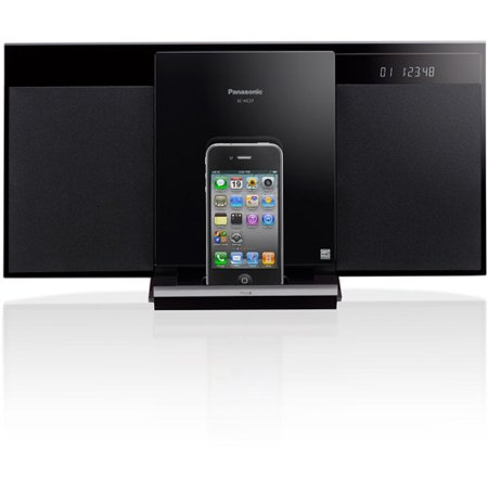 panasonic sc hc271 ipod dock cd player micro system. Black Bedroom Furniture Sets. Home Design Ideas