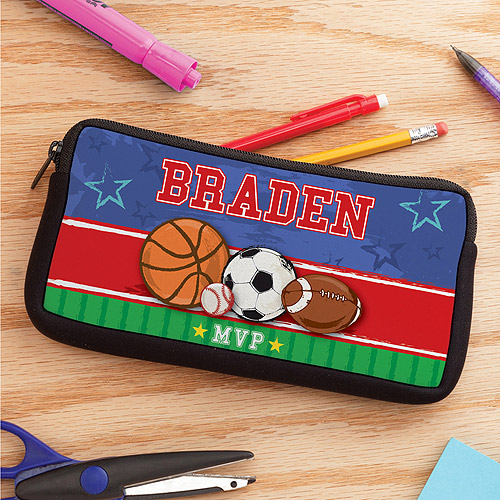 Personalized MVP Sports Pencil Case