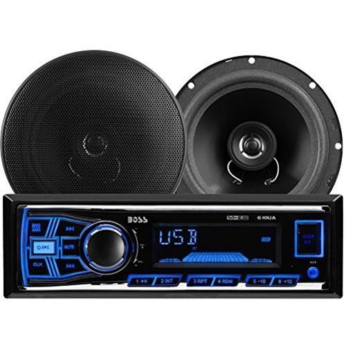 Boss Audio 636CK 610UA Mechless MP3 Digital Media Receiver/Speaker System