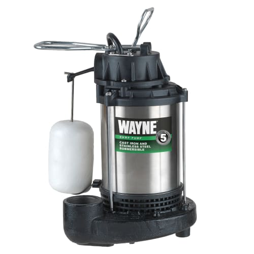 WAYNE CDU980E 3/4 HP Stainless Steel Sump Pump