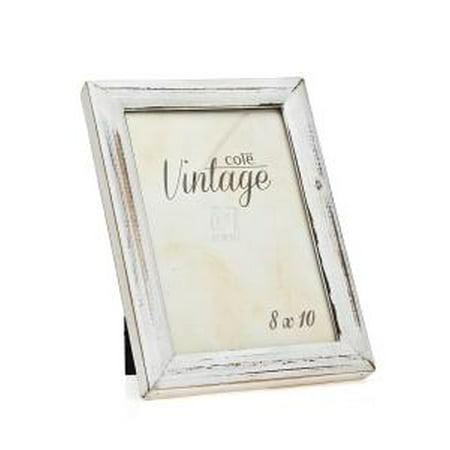 8x10 distressed white wood picture frame. Black Bedroom Furniture Sets. Home Design Ideas
