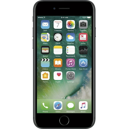 Apple iPhone 7 128GB Unlocked GSM Quad-Core Phone w/ 12MP Camera - Black (Used)