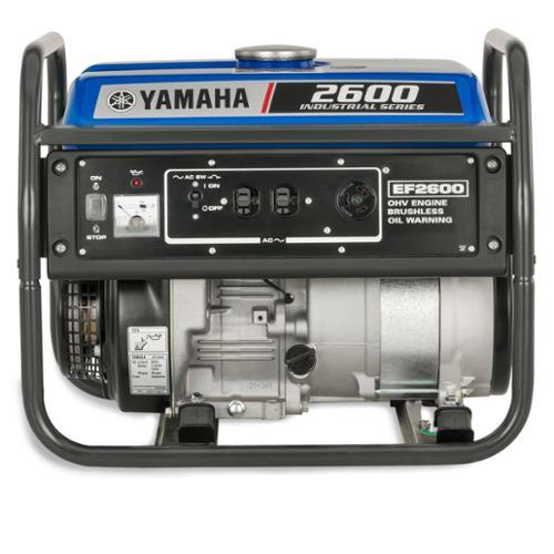 Yamaha EF2600 2,600 Watt Gas Powered Portable RV Home Bac...