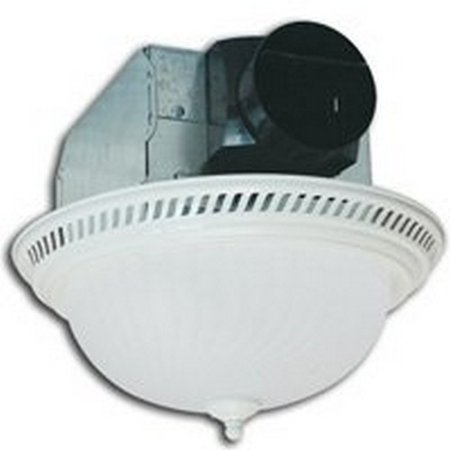 Bath Fan Combo Wht Trim 70 Cfm