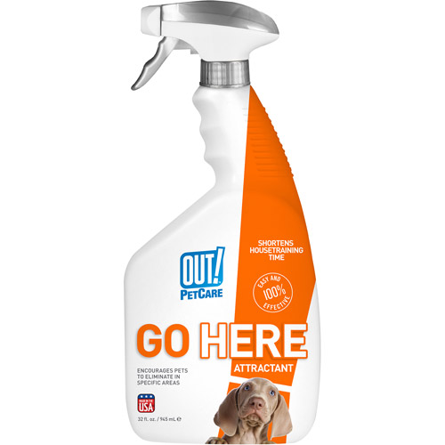 OUT! Go Here Housetraining Aid for Puppies, 32 oz