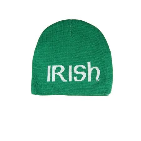 f17e760178d Irish St Patrick s Day Jacquard Knit Hat - Walmart.com