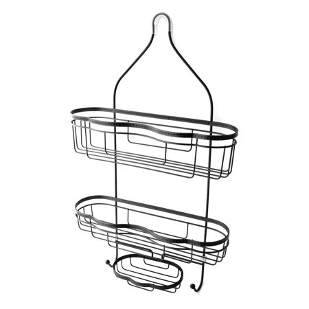 Splash Home Today Shower Caddy Bathroom Hanging Head Two Basket ...