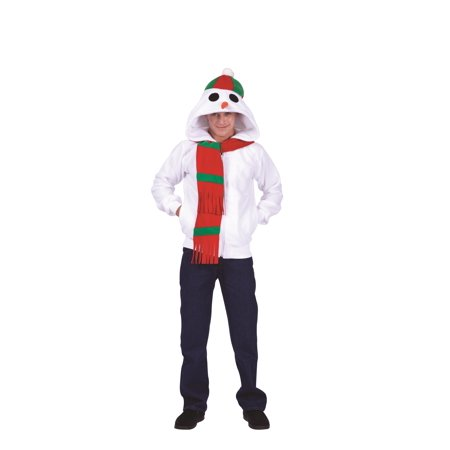 Adult Snowman Costume (Snowman Adult Hoodie Costume)