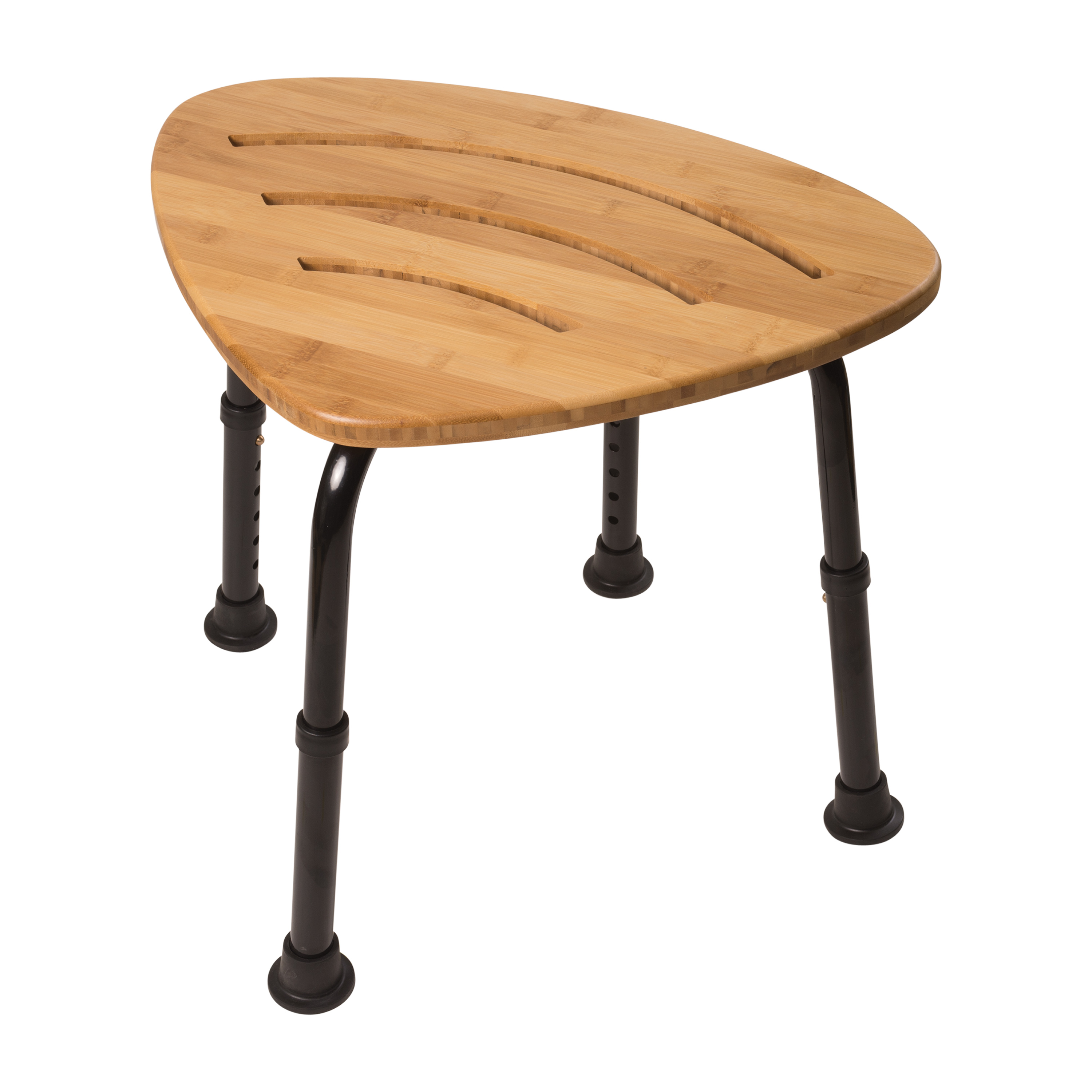 DMI Bamboo Bath Seat Shower Stool