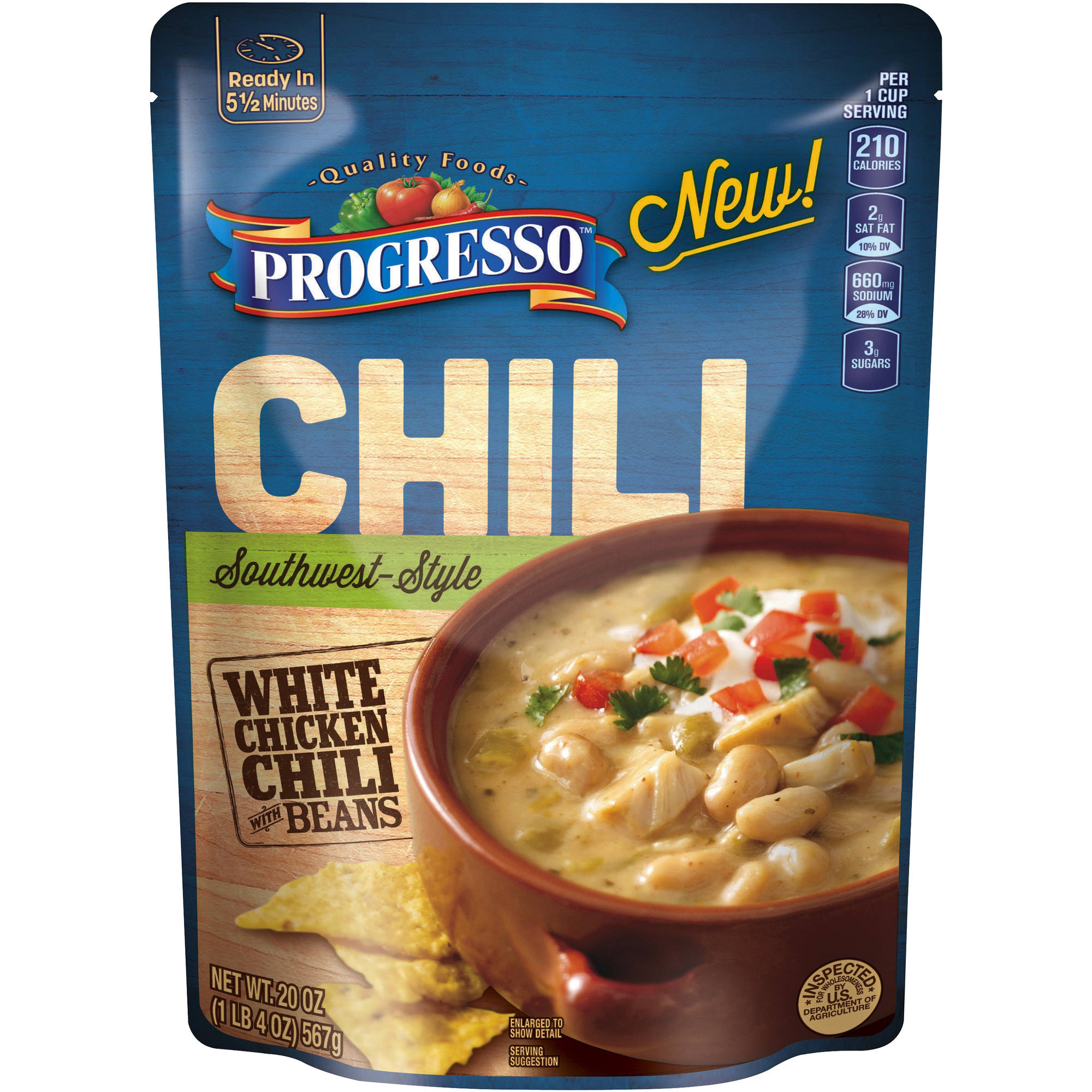 Progresso Southwest-Style White Chicken Chili, 20 oz