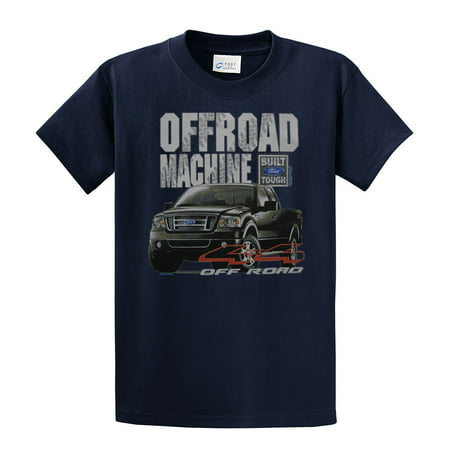 Ford Truck T-Shirt Off Road Machine-Navyblue-Xxl Green Ford Grips