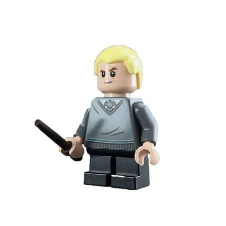 Brick Building Sets Original LEGO® Figure: Harry Potter Figure - Draco Malfoy (w/ Wand)