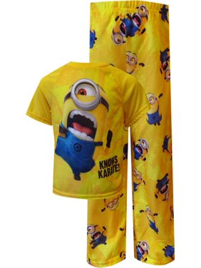 Despicable Me 2 Minion Knows Karate Toddler Pajamas