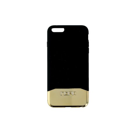 Incipio Edge Chrome Slider Case for iPhone 6 Plus 6S Plus Black and Gold (Refurbished)