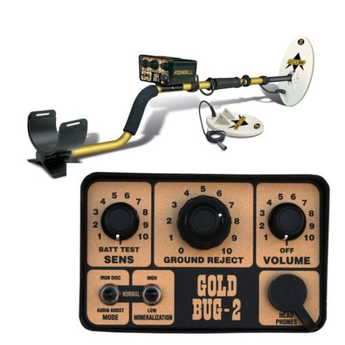 Fisher Gold Bug II Metal Detector Coil Combo