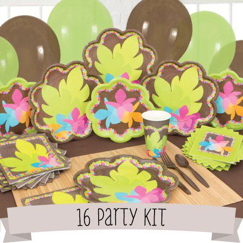 Luau - 16 Person Party Kit