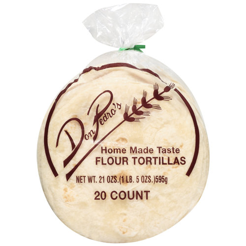 Don Pedro's Flour Tortillas, 20ct
