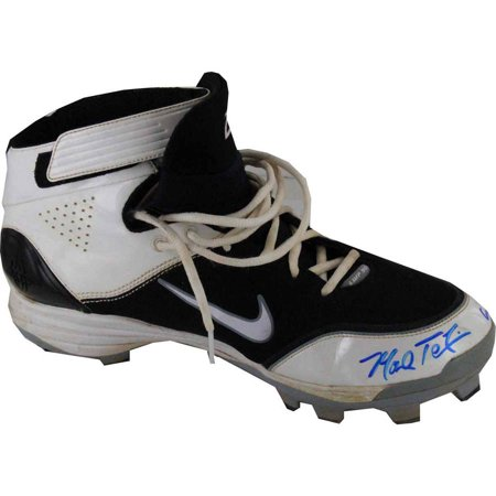 Mark Teixeira Signed Game Used Cleats with Game Used Inscription (Pair) (2 Different - Lewis Signed Baseball
