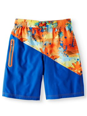 16fb2e09d6 Product Image Wonder Nation Graphic Swim Trunk (Little Boys & Big Boys)