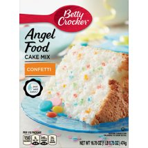 Baking Mixes: Betty Crocker Angel Food Confetti Cake Mix