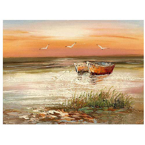 "Trademark Fine Art ""Florida Sunset"" Canvas Art"