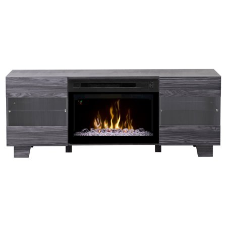 Dimplex Max Media Console Electric Fireplace With Acrylic Ember Bed for TVs up to 50