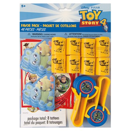 Toy Story Party Favors for 8, 48pcs ()