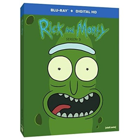 Rick and Morty: Season 3 (Blu-ray + Digital HD)