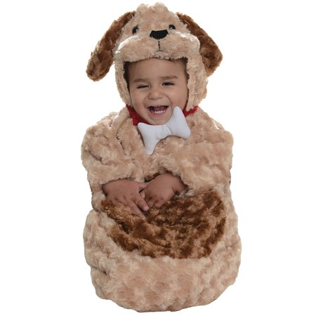 Unisex Infant Dog Puppy Bunting Cute Animal Pup Costume Halloween Costume - Infant Halloween Costumes Bunting