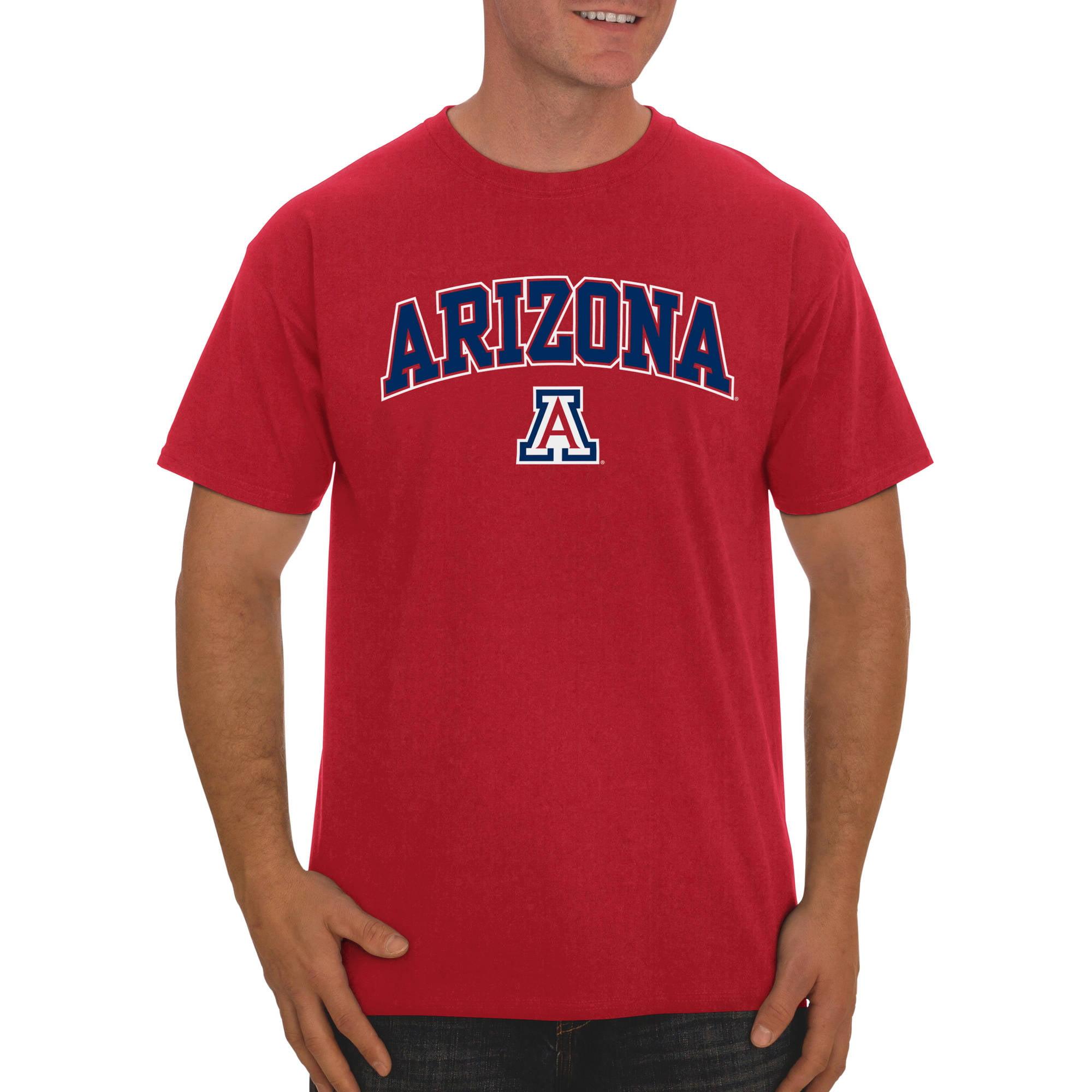 Russell NCAA Arizona Wildcats, Big Men's Classic Cotton T-Shirt