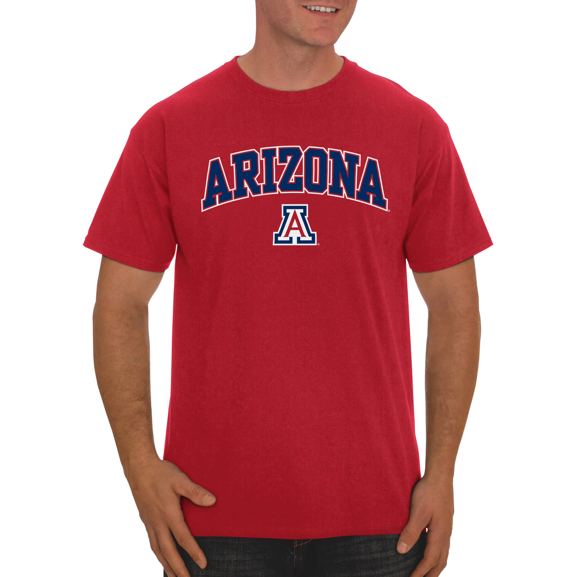 Russell NCAA Arizona Wildcats, Big Men's Classic Cotton T-Shirt