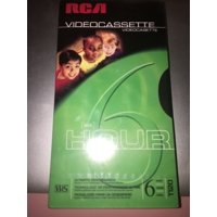 RCA T-120 4PK VHS VCR 120min (6hr) Blank Video Cassette Tapes.