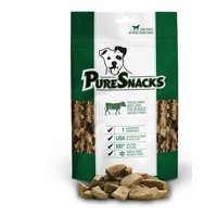 PureSnack Beef Liver Freeze Dried Mid-Sized Dog treats, 2.79 oz.