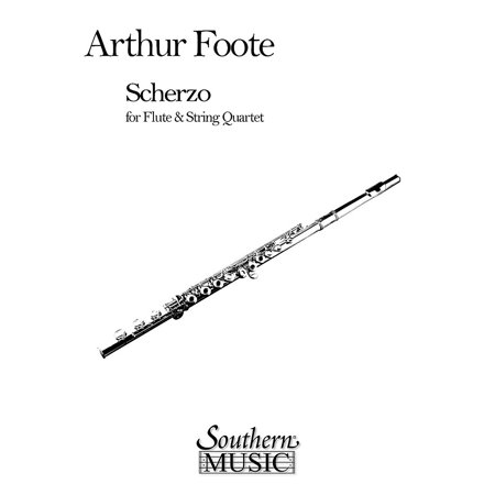 Southern Scherzo for Flute & String Quartet Southern Music Series by Arthur - Halloween Music For Flute