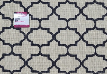Click here to buy Better Homes and Gardens Trellis Jute Placemat by Generic.