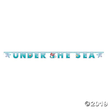 Disney® The Little Mermaid™ Under the Sea Banner
