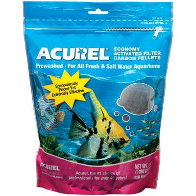 Acurel Economy Activated Filter Carbon Pellets 3lb- Api Activated Filter Carbon