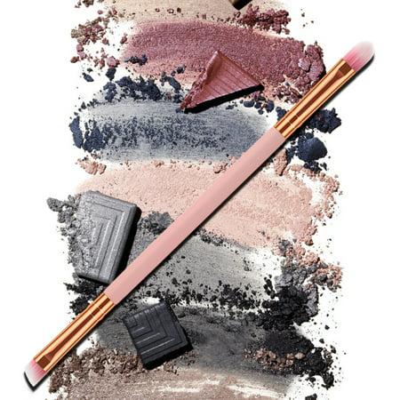Makeup Brush Double-end Eyeshadow Eyebrow Brush Applicator Makeup Cosmetic Tool