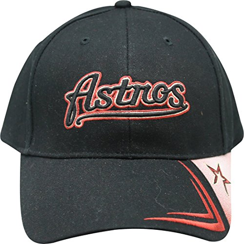 MLB Houston Astros Classic Throwback Logo Kingpin Series Adult Men's Cap Hat