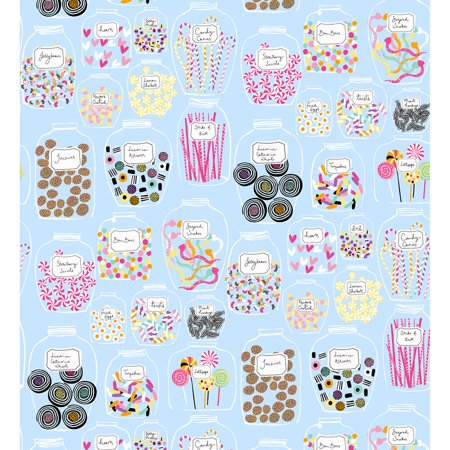 Quilting Treasures Sugar Rush Light Blue Candy -