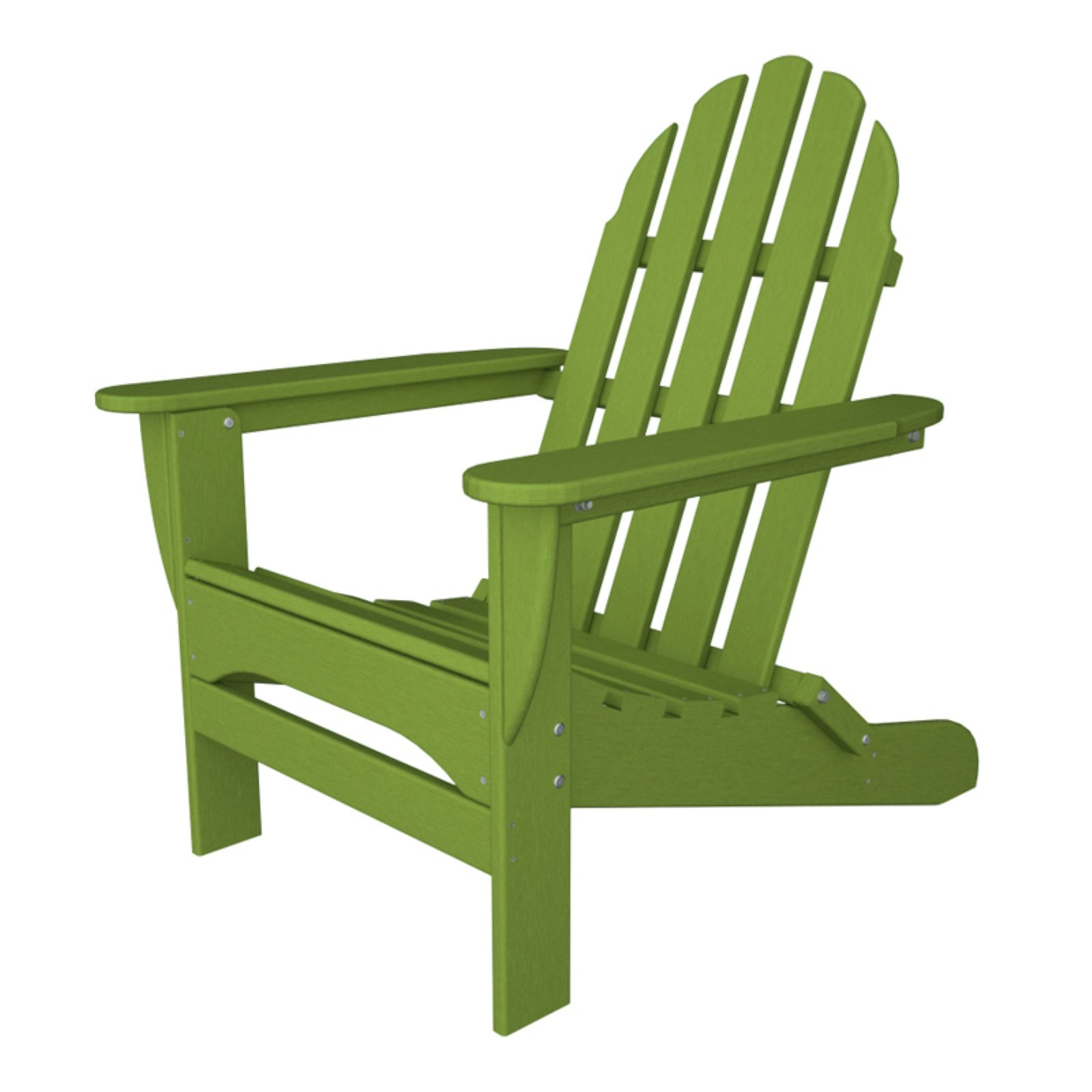 POLYWOOD Classic Recycled Plastic Foldable Adirondack Chair by Polywood