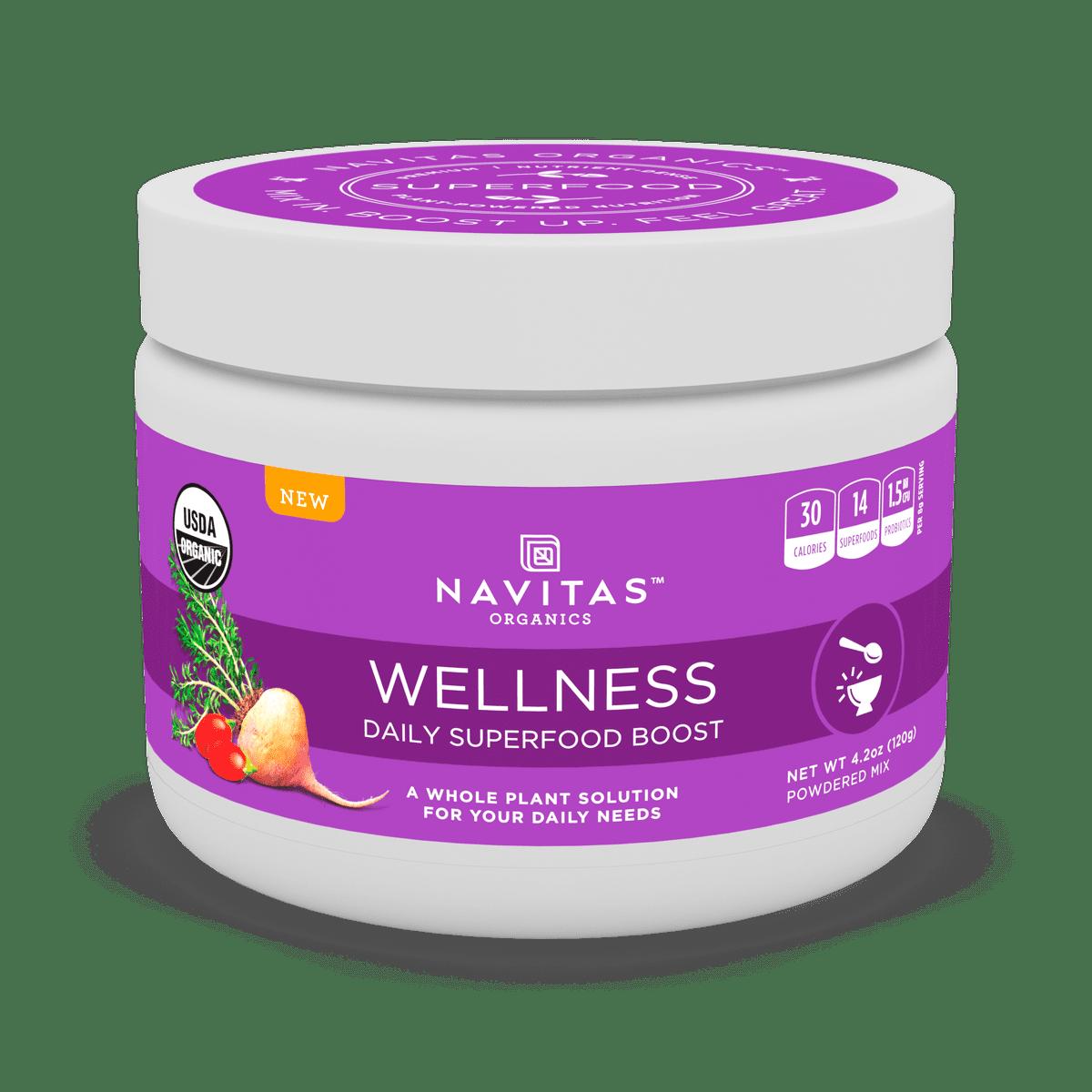 Navitas Organics Daily Wellness Superfood Powder, 4.2 Oz, 15 Servings