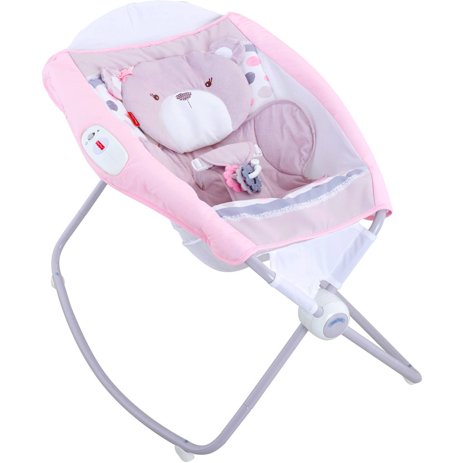 Fisher-Price My Little Snugabear Ballerina Deluxe Newborn Rock 'n Play Sleeper