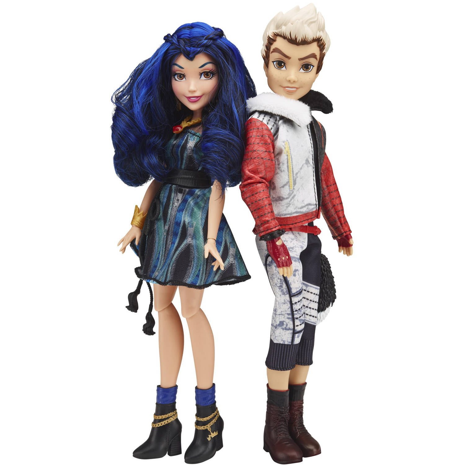 Disney Descendants 2-Pack Evie Isle of the Lost and Carlos Isle of the Lost Dolls by Hasbro