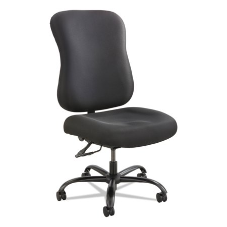 Safco Optimus High Back Big & Tall Chair, 400-lb. Capacity, Black