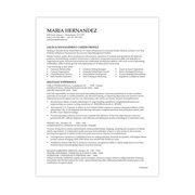 southworth 100 cotton resume paper 8 5 x 11 24 lb wove finish